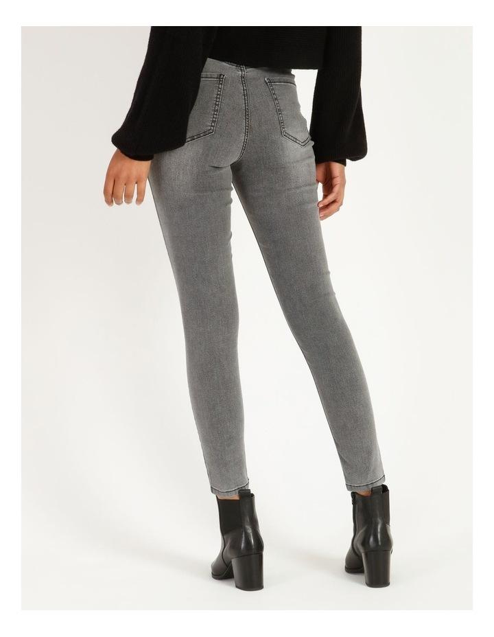 High Waist Skinny Jeans image 3