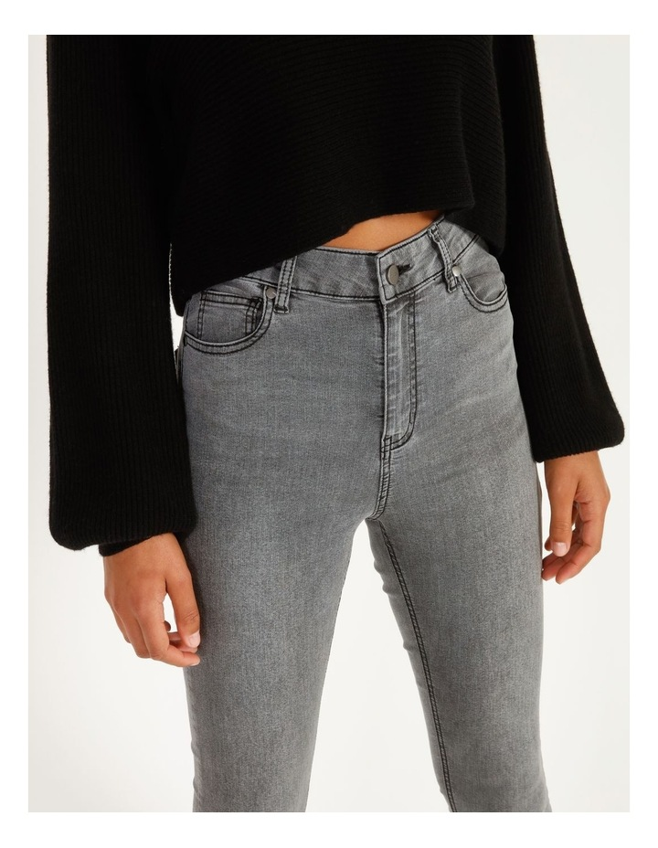 High Waist Skinny Jeans image 5