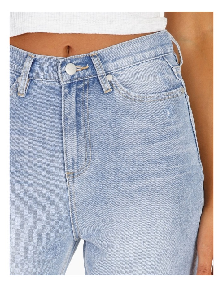 Straight Jean - Light Blue image 6
