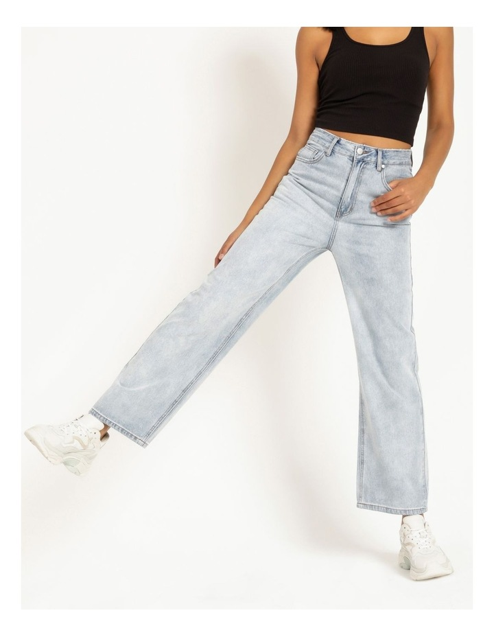 90s' Light Blue Relaxed Fit Jean image 1