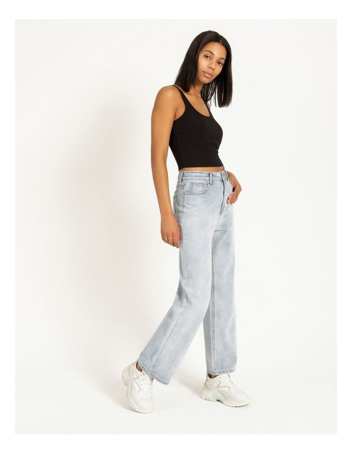 90s' Light Blue Relaxed Fit Jean image 2