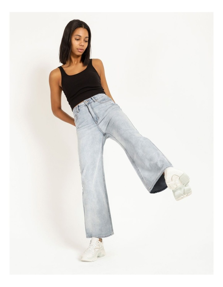 90s' Light Blue Relaxed Fit Jean image 3