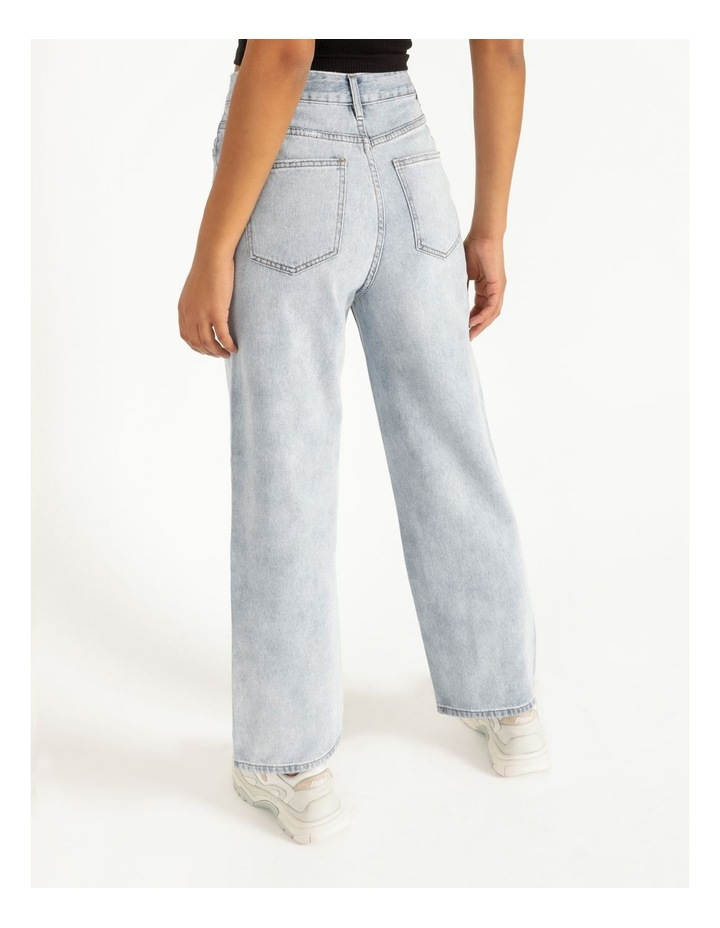 90s' Light Blue Relaxed Fit Jean image 4