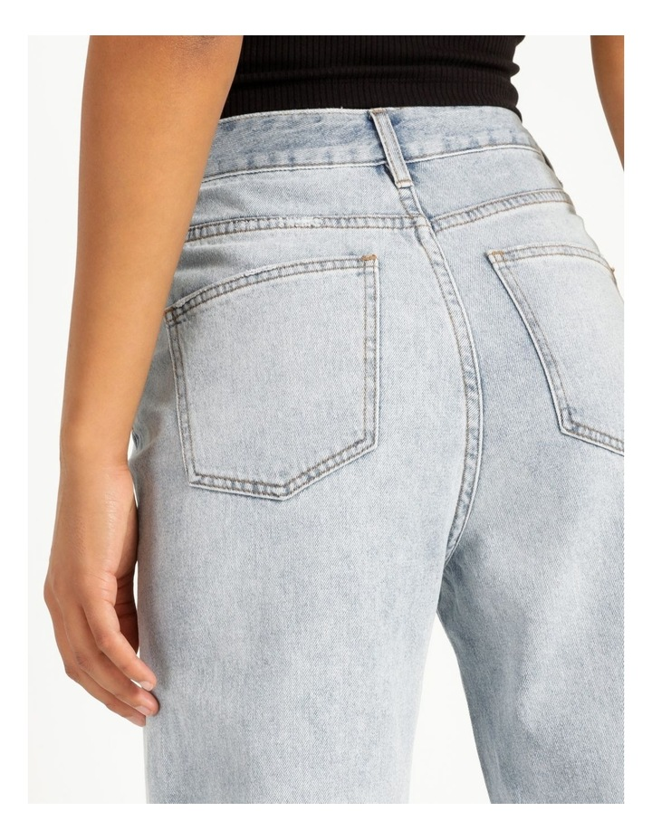 90s' Light Blue Relaxed Fit Jean image 5