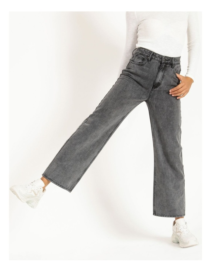90s' Black Wash Relaxed Fit Jean image 2