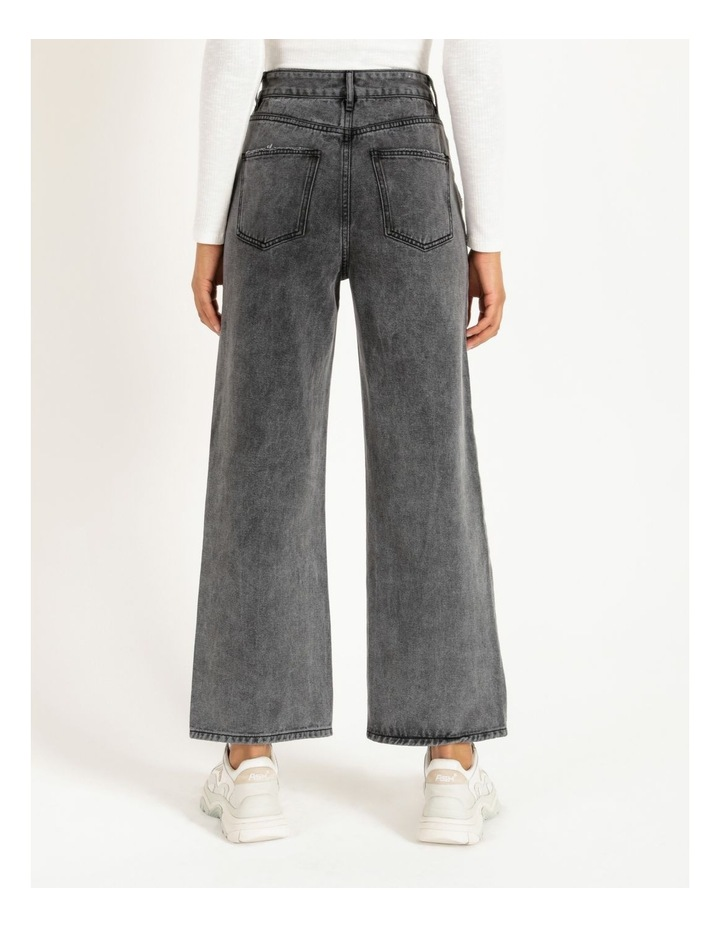 90s' Black Wash Relaxed Fit Jean image 5