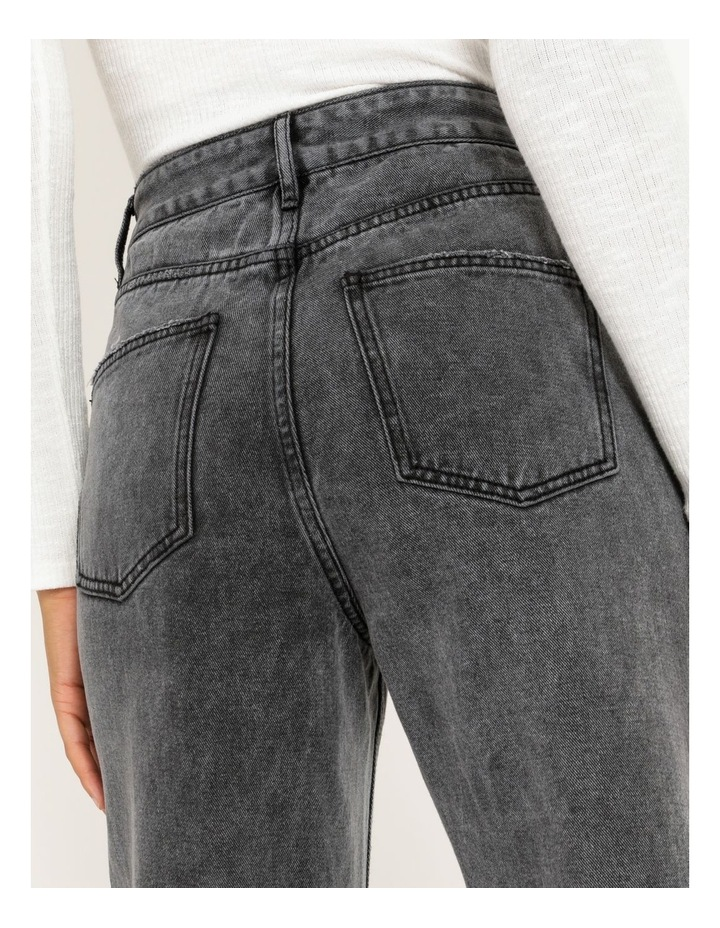 90s' Black Wash Relaxed Fit Jean image 6