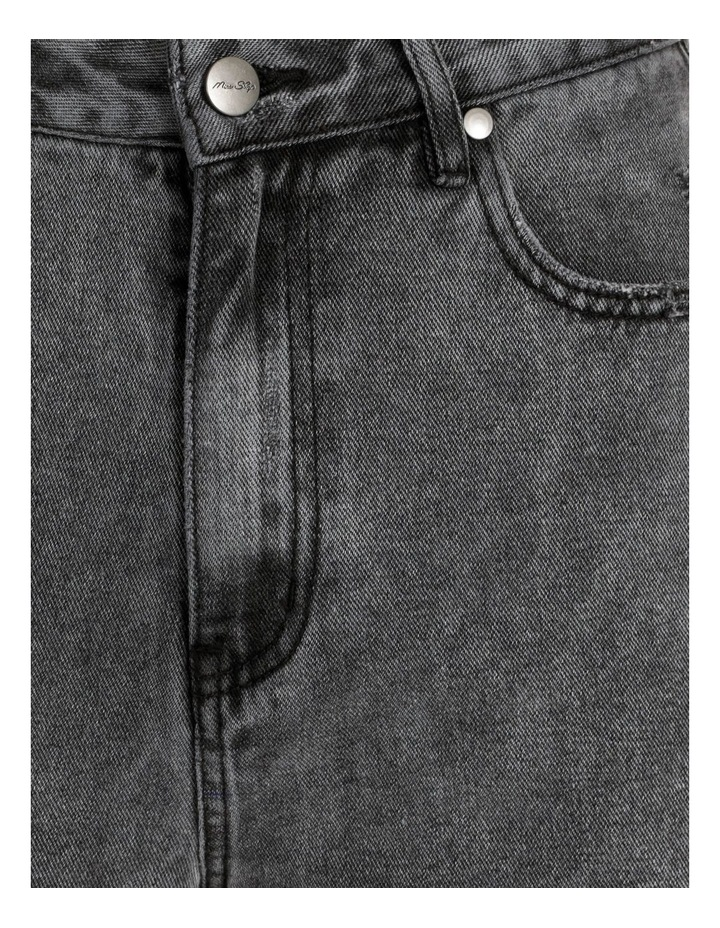 90s' Black Wash Relaxed Fit Jean image 7