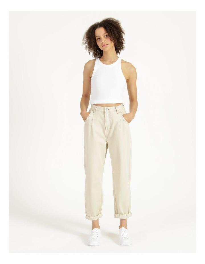 Slouchey Jeans Ecru image 1