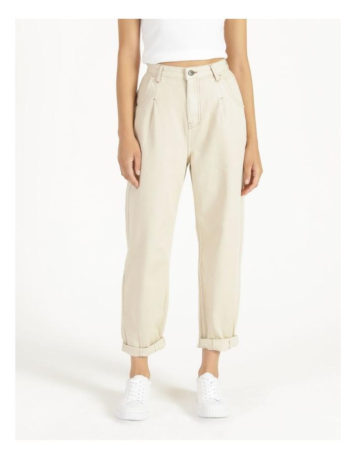 Slouchey Jeans Ecru image 2