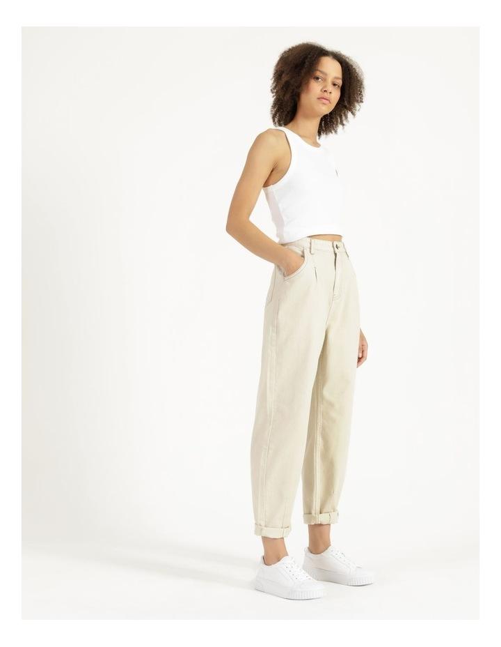 Slouchey Jeans Ecru image 3