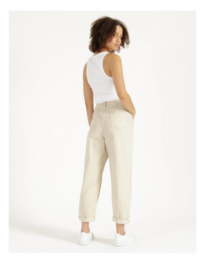 Slouchey Jeans Ecru image 4