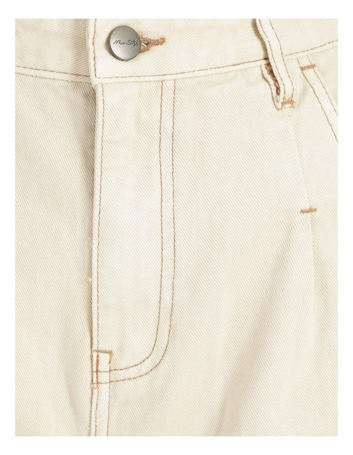 Slouchey Jeans Ecru image 6