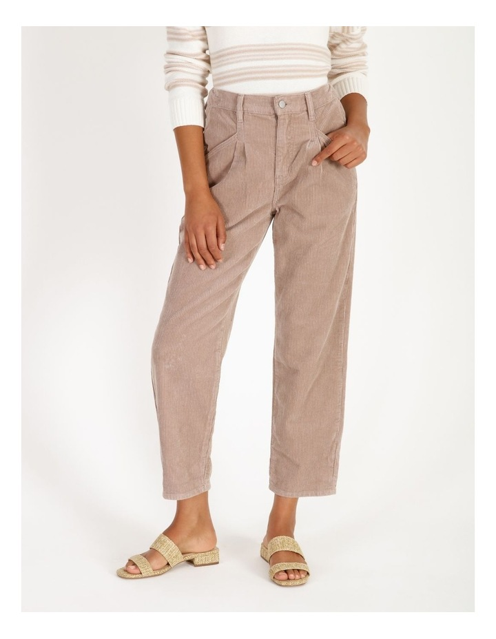 Pleated Cord Pant image 1