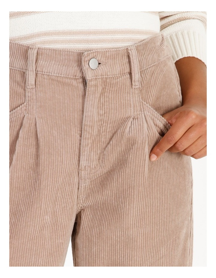 Pleated Cord Pant image 4