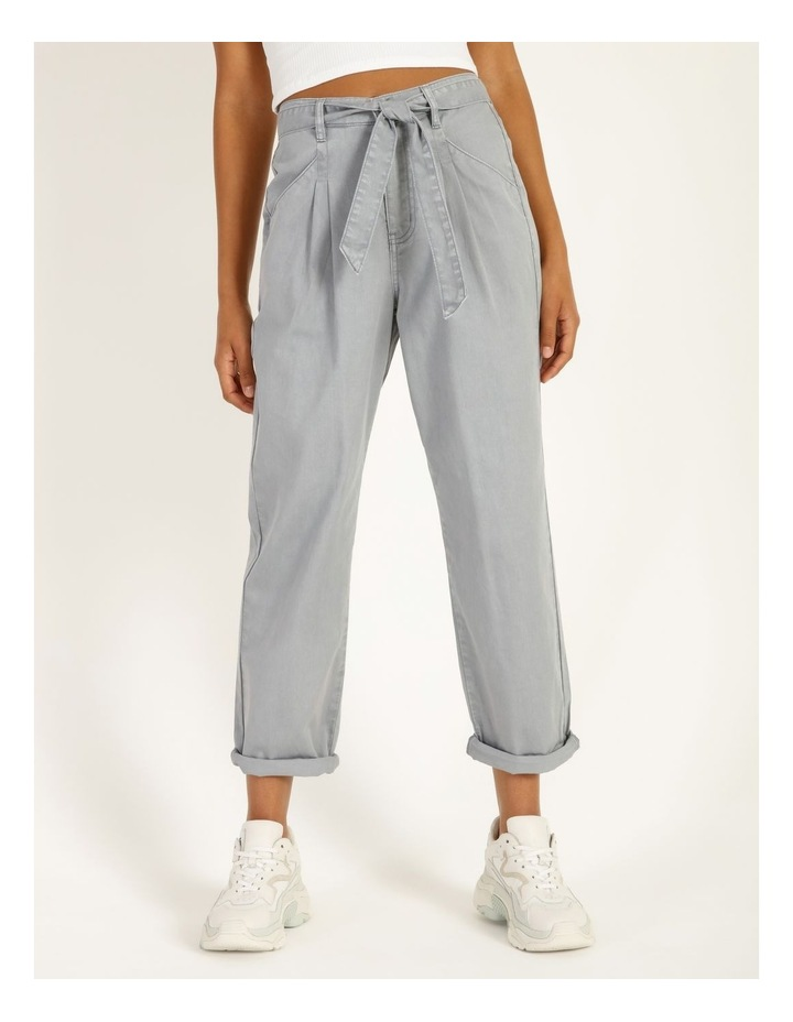 Casual Pleat Front Pants image 1