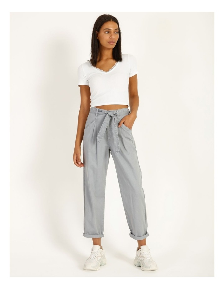 Casual Pleat Front Pants image 2