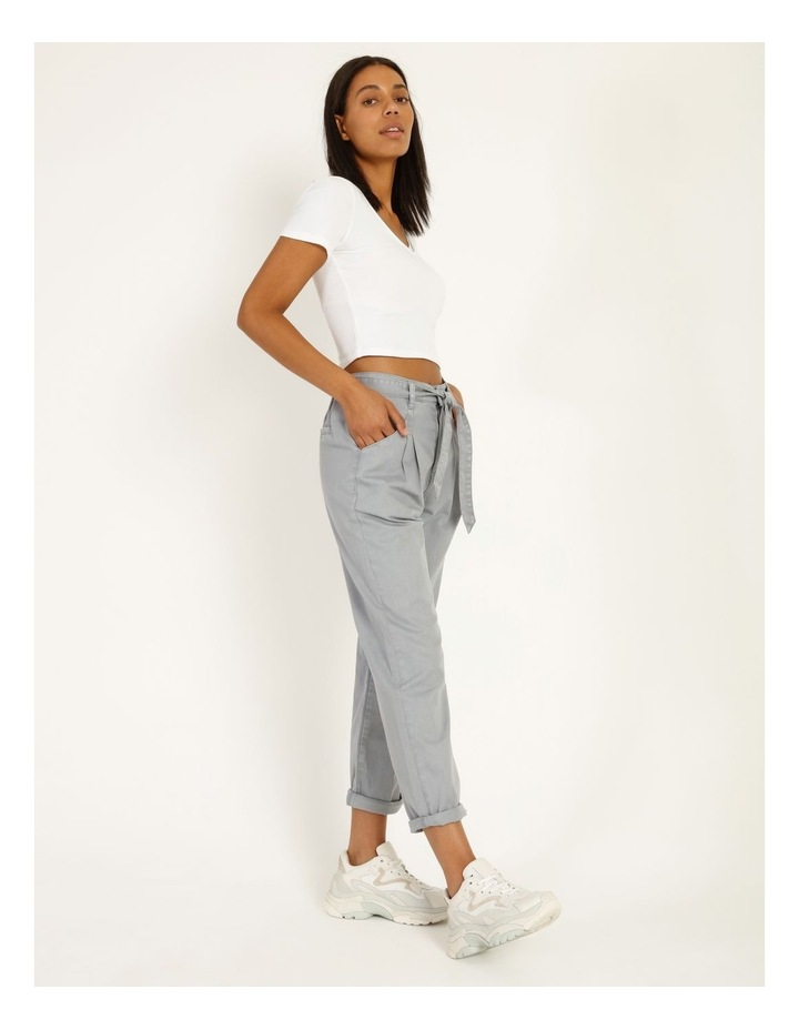 Casual Pleat Front Pants image 4