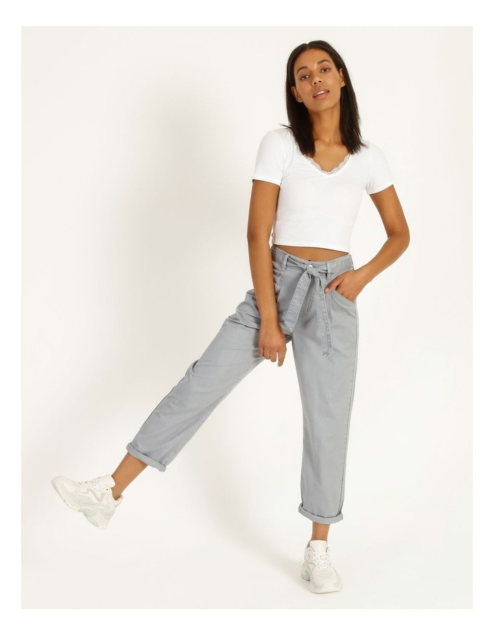 Casual Pleat Front Pants image 5