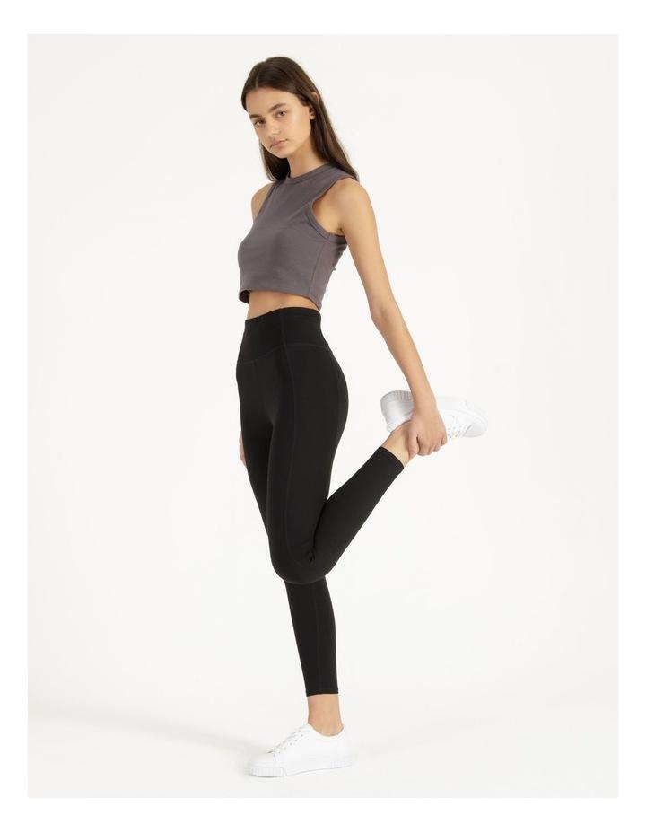 High Rise Soft Touch Legging Black image 2