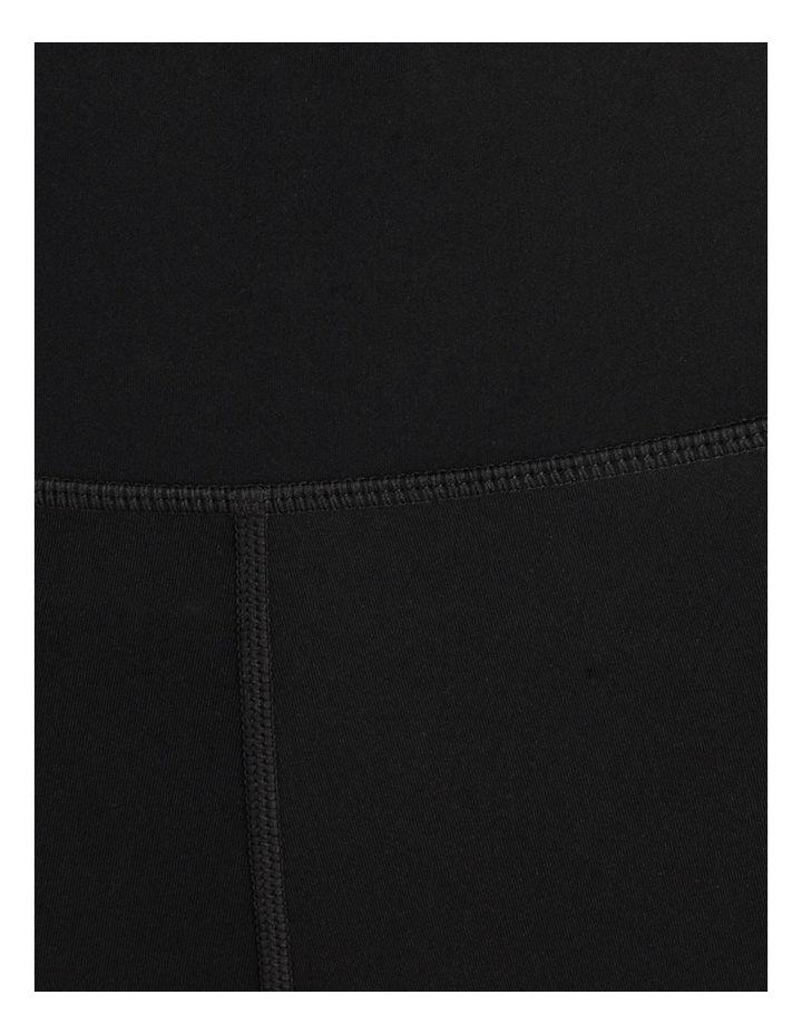 High Rise Soft Touch Legging Black image 6