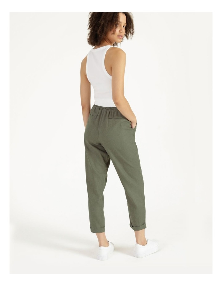 Relaxed Linen Pants Agave image 4