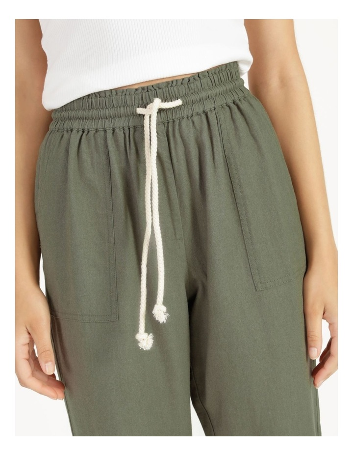 Relaxed Linen Pants Agave image 5
