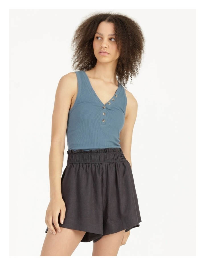 Linen Blend Shorts image 2