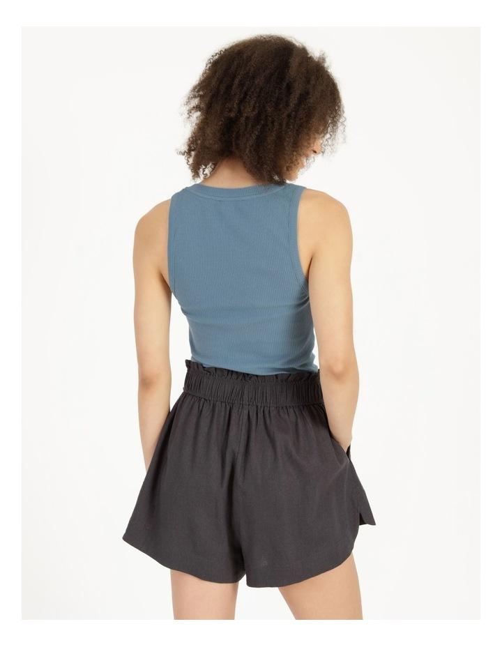 Linen Blend Shorts image 3