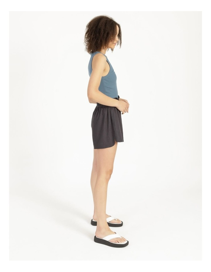 Linen Blend Shorts image 4