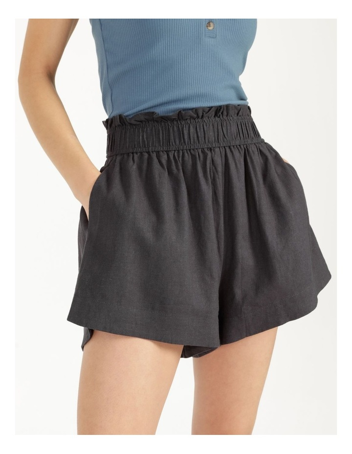 Linen Blend Shorts image 5