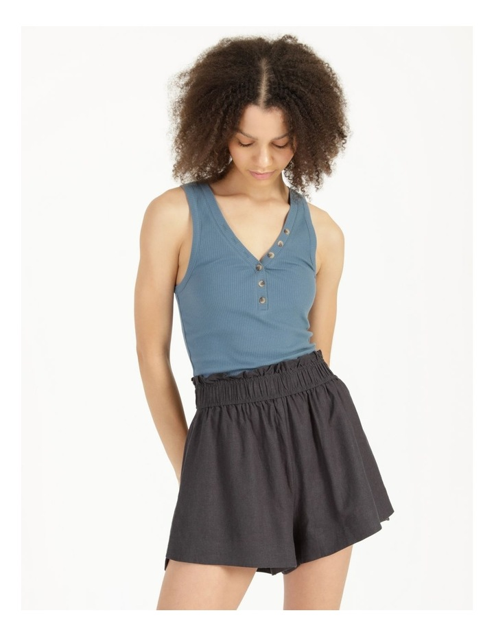 Linen Blend Shorts image 6