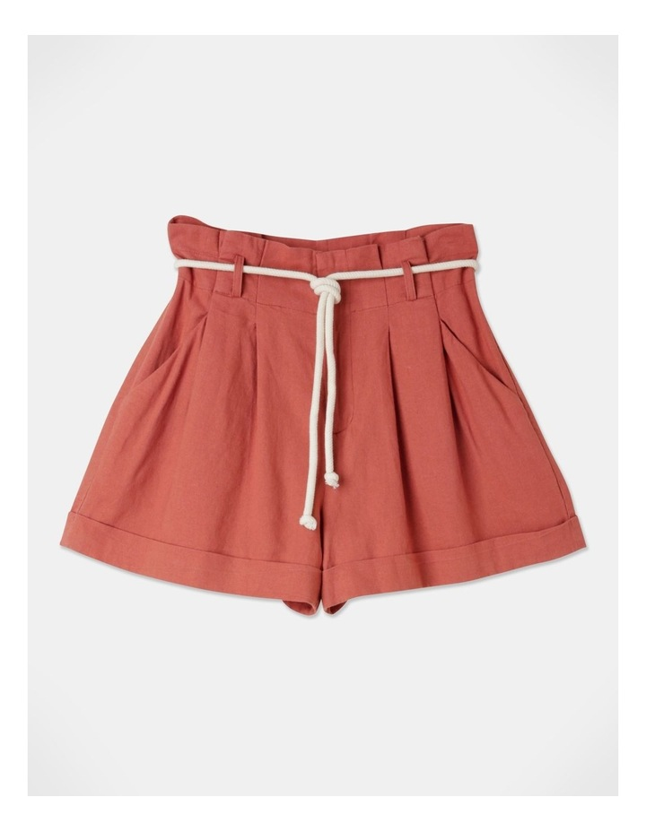 Pleat Front Shorts Sienna image 1