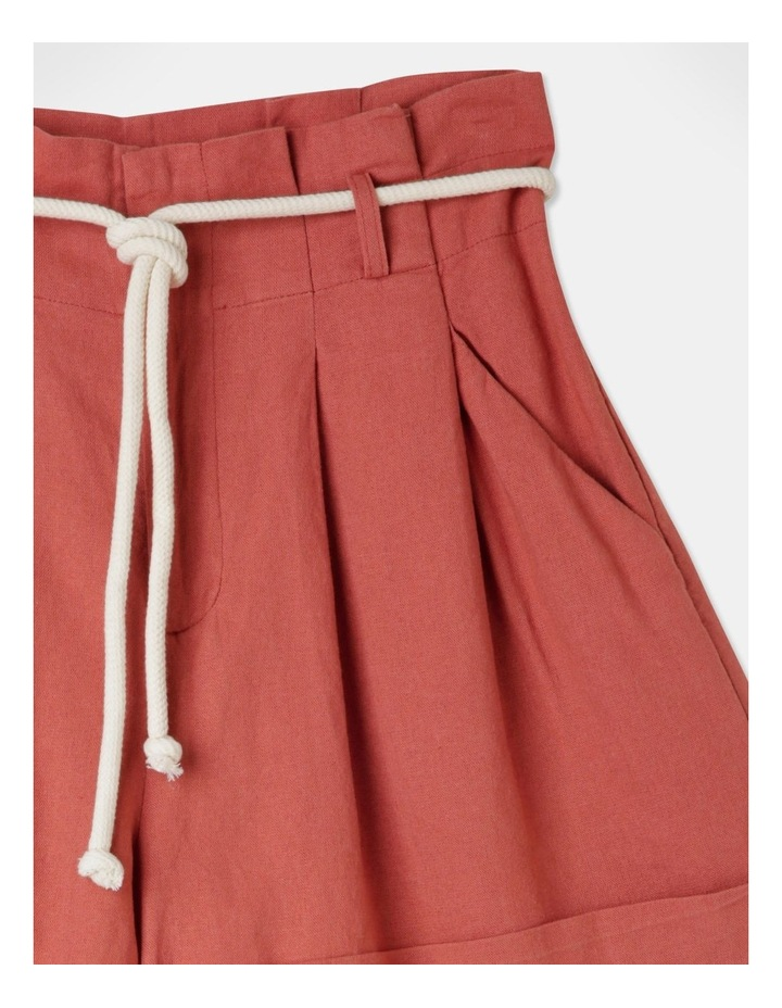 Pleat Front Shorts Sienna image 2