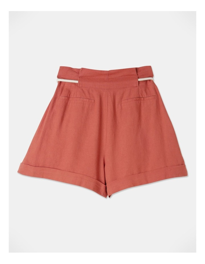 Pleat Front Shorts Sienna image 3