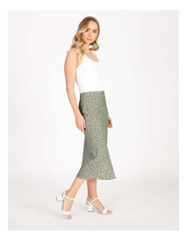 Midi Slip Skirt image 2