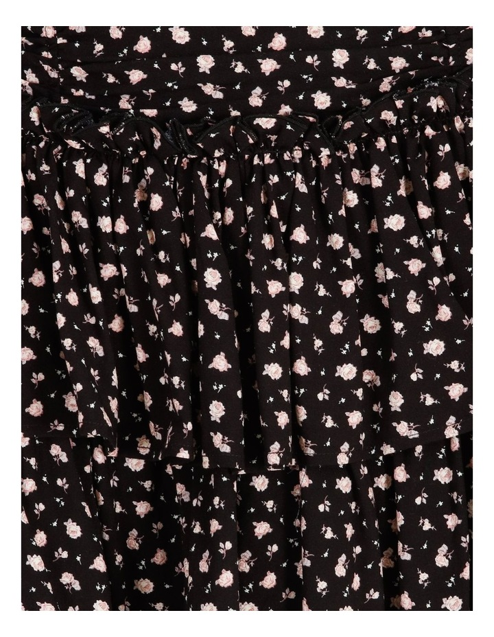 Ruched Floral Mini Skirt image 6