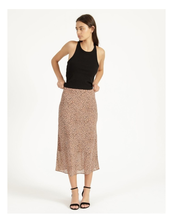 Double Georgette Midi Skirt image 1