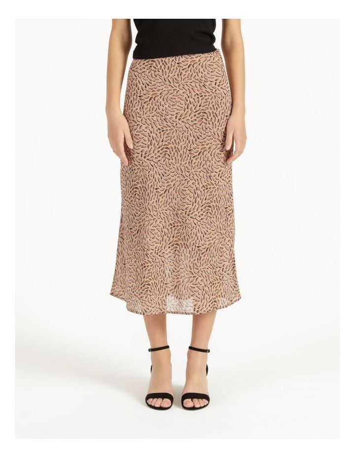 Double Georgette Midi Skirt image 2