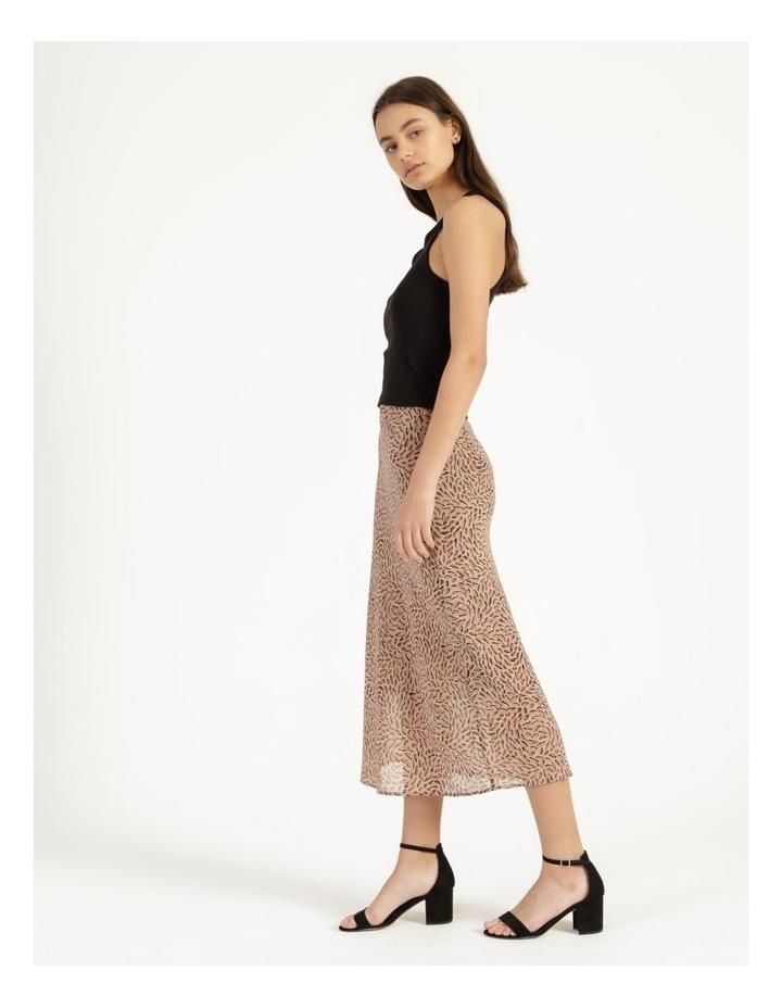Double Georgette Midi Skirt image 3