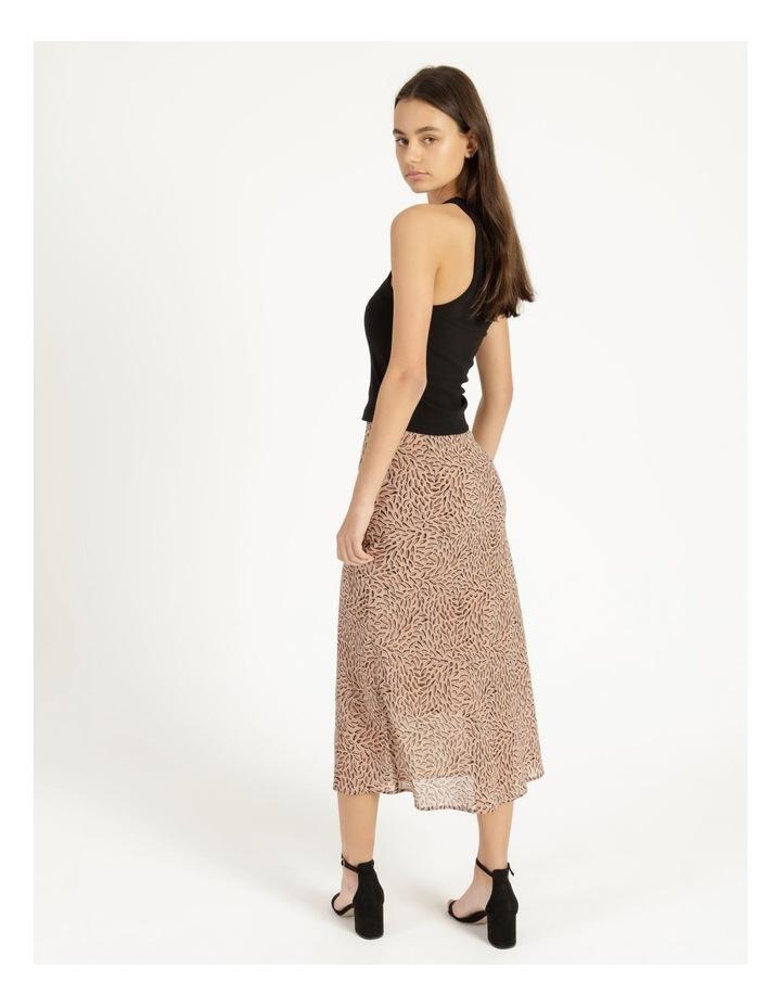 Double Georgette Midi Skirt image 4