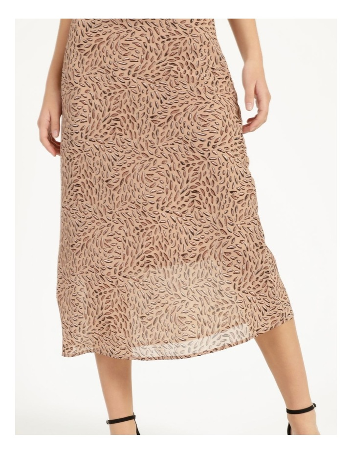 Double Georgette Midi Skirt image 5