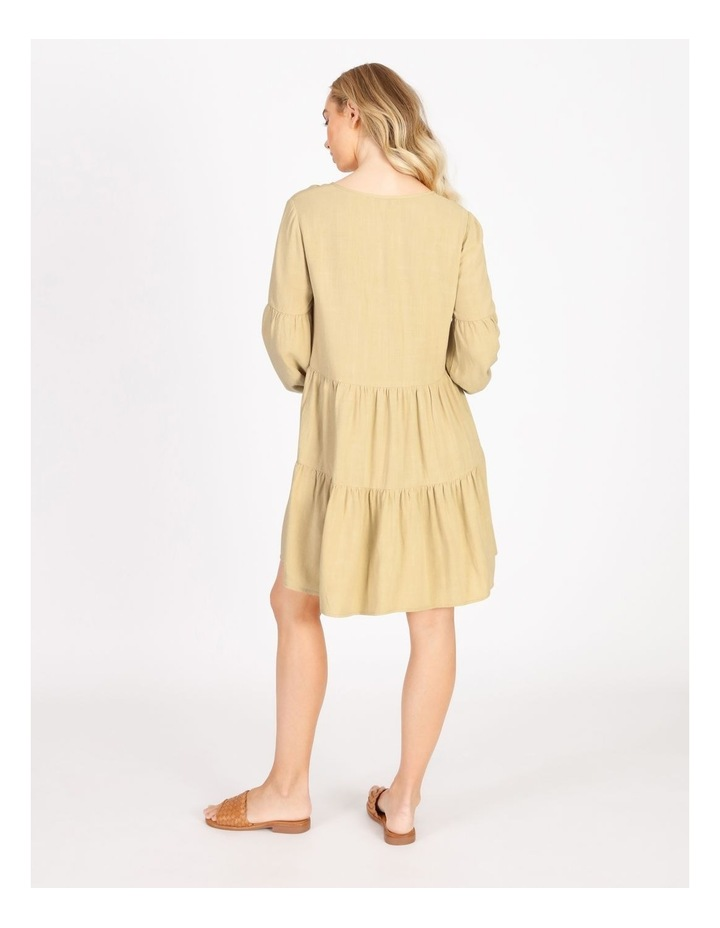 Tiered Billow Sleeve Dress image 2