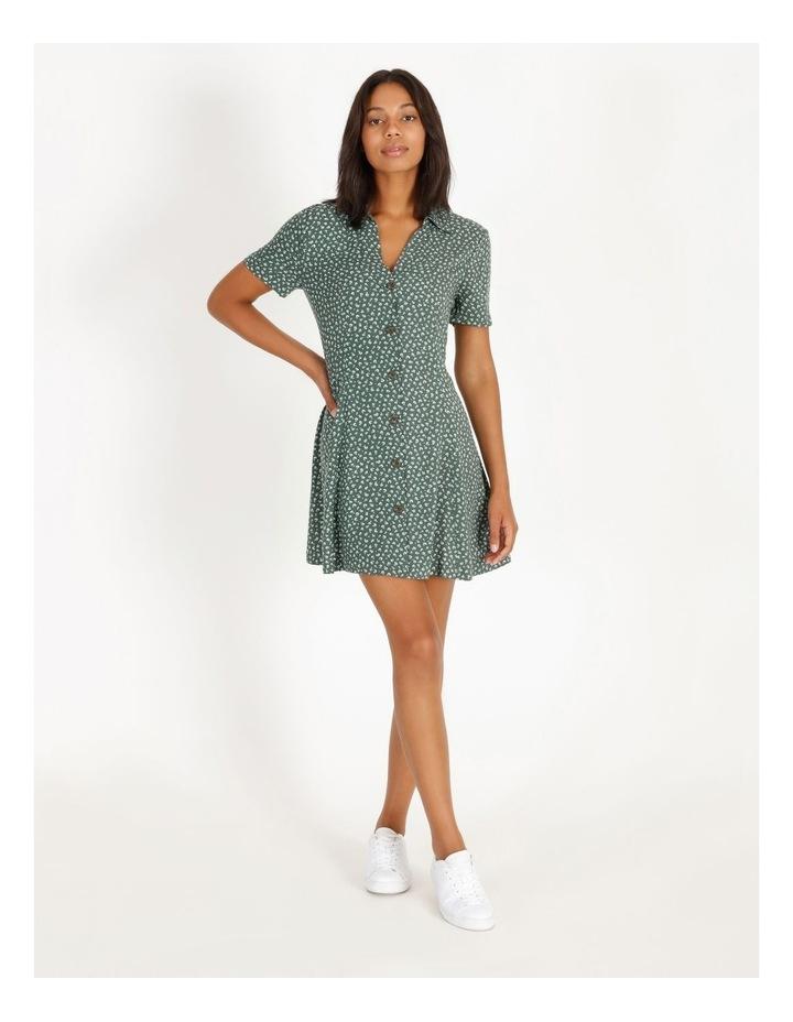 Ditzy Floral Shirt Dress image 1