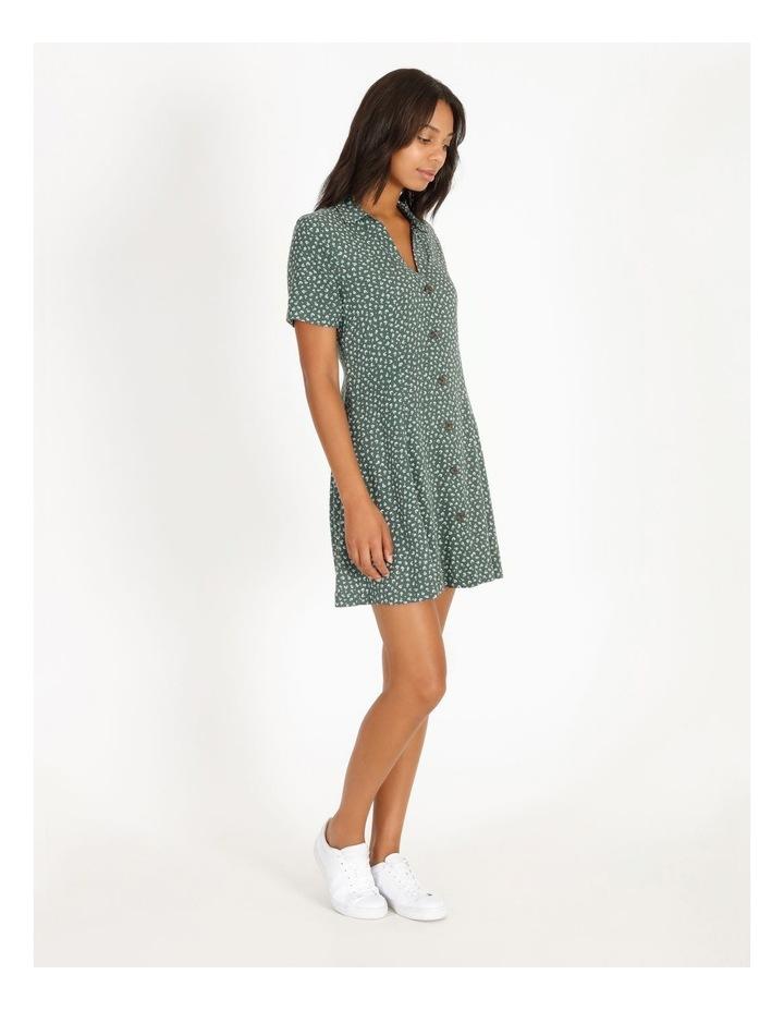 Ditzy Floral Shirt Dress image 2