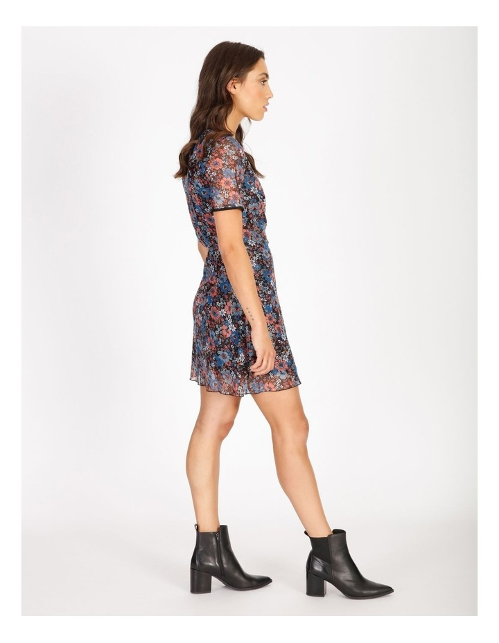 Floral Mini Wrap Dress image 2