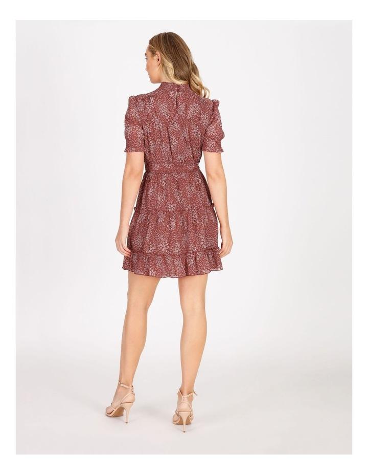 High Neck Shirred Dress image 3