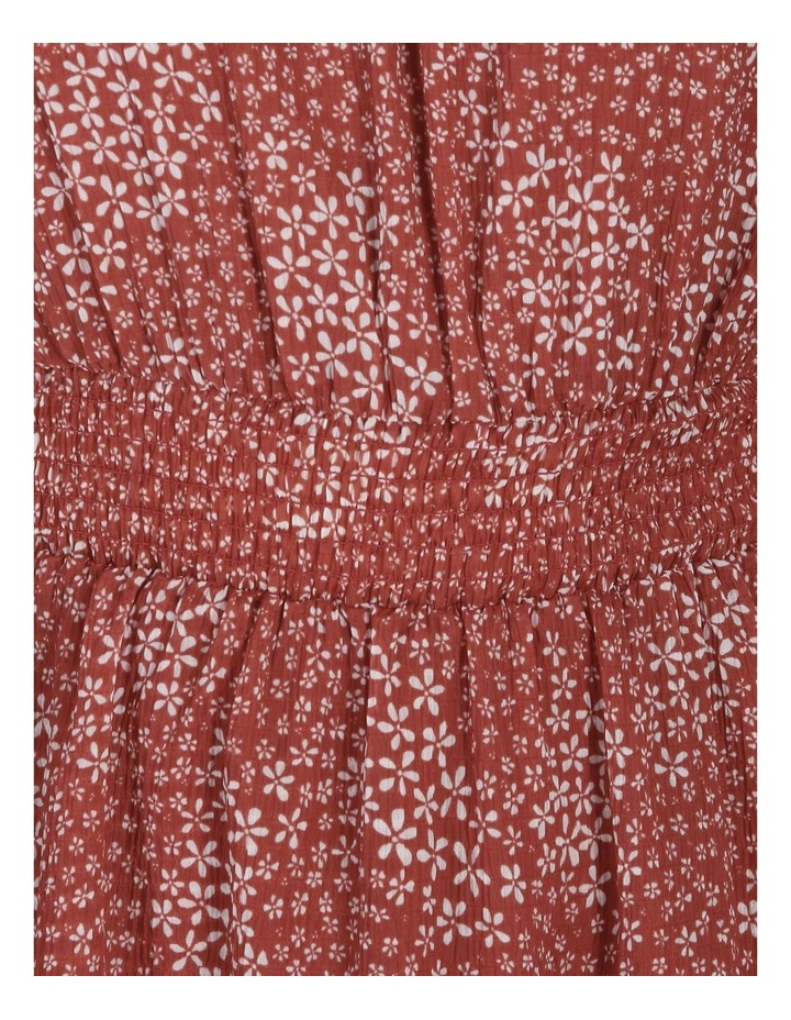 High Neck Shirred Dress image 5