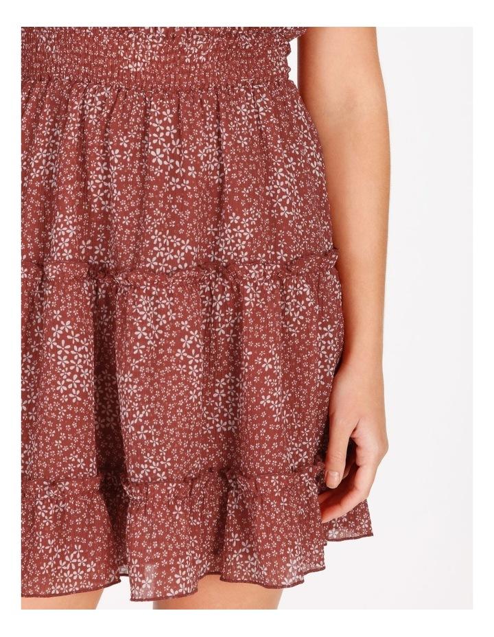 High Neck Shirred Dress image 6