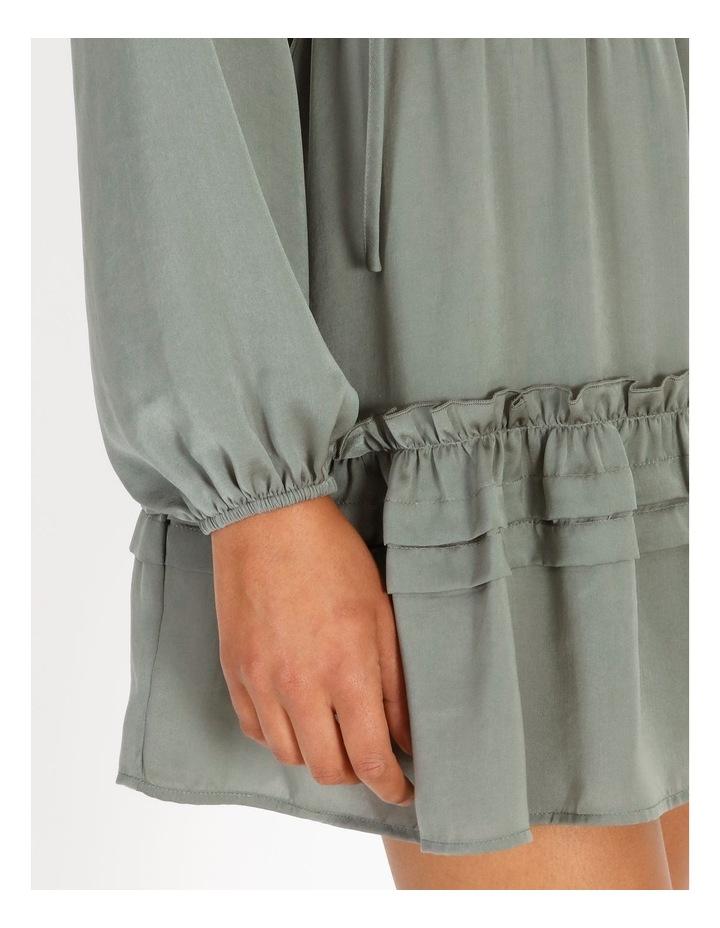 V-Neck Ruffle Skirt Boho Dress image 5